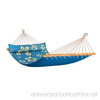 LA SIESTA Hawaii Pacific - Weather-Resistant Quilted Double Spreader Bar Hammock - B012CUXFRA
