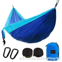 MAIBET Portable Lightweight Hammock Multifunctional Hammock Premium Quality Setup Fast And Easy Hammock For Backpacking  Camping  Travel  Beach  Yard - B072F711NZ