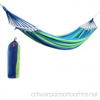 Raking Colorful Leisure Canvas Double 2 Person Cotton Fabric Canvas Travel Hammocks - B01N9JYFSQ