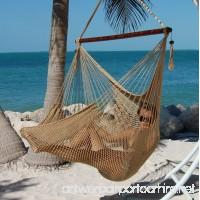 "Caribbean Hammocks Polyester Hanging Chair  Large  48"" L  Tan - B008XTV694"