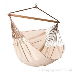 LA SIESTA Habana Nougat - Organic Cotton Lounger Hammock Chair - B00O2LLY26