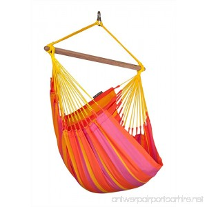 LA SIESTA Sonrisa Mandarine - Weather-Resistant Basic Hammock Chair - B006B3YZ2Y