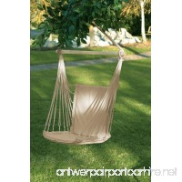One Person Garden/Yard/Porch Hanging HAMMOCK Padded Chair/Swing~Recycled Cotton - B01M0UVPFI