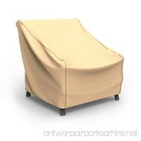 "Budge P1W02TNNW1 Patio Chair Cover-Large Rust-Oleum Neverwet Furniture  34"" x 36"" W x 41"" deep  Tan - B07C17XR45"