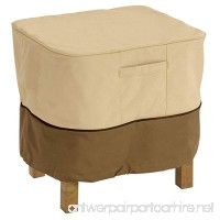 Classic Accessories Veranda Square Patio Ottoman/Side Table Cover - Durable and Water Resistant Patio Set Cover  X-Large (55-645-051501-00) - B01FJMC18M