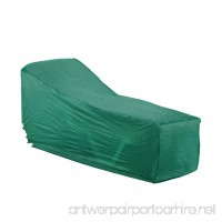 Collections Etc Seasonal Outdoor Patio Furniture Covers Green Chase - B00VZIRGVM