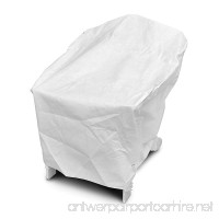 DuPont Tyvek 22750 Adirondack White Chair Cover 40-Inch W by 37-Inch D by 41-Inch H - B000AY1FG4