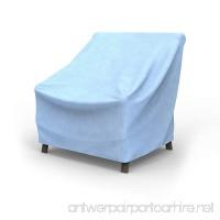 EmpirePatio Medium Outdoor Chair Cover - Blue Slate - B00MPZNC30