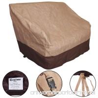 Furinho Bush - Waterproof All-Seasons Outdoor Loveseat Wicker Chairs Cover Furniture Protection YRS 1036 - B01MQNOP4P