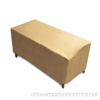 Protective Covers 2295-TN Quality Bench Outdoor Furniture Cover Tan - B073H3XB7X