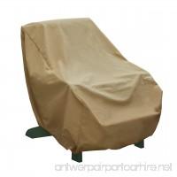 Seasons Sentry CVP01434 Adirondack Chair Cover Sand - B00MN4Y944