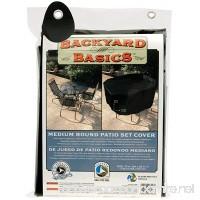 Backyard Basics 70-Inch Round Patio Set Cover - B003D3MLXA