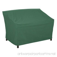 Classic Accessories 55-444-011101-11 Atrium Patio Sofa Cover  76-Inch  Green - B00R2S3FGY