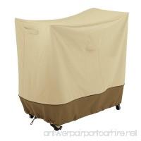 Classic Accessories 55-799-031501-00 Veranda Patio Double Handle Bar Cart  Medium - B074T6KGVB