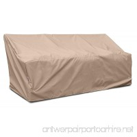 KoverRoos Weathermax 46450 Deep 3-Seat Glider/Lounge Cover 89-Inch Width by 36-Inch Diameter by 33-Inch Height Toast - B007OSKK9C