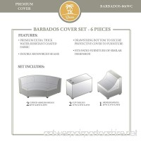 TK Classics BARBADOS-06i Winter Cover Set Beige - B01N7JB7R5