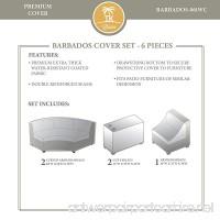 TK Classics BARBADOS-06i Winter Cover Set Beige - B01N7JB7R5