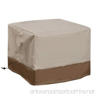 Waterproof Outdoor Air conditional Patio Furniture Cover Square Furniture Protection - B07BD2M26V
