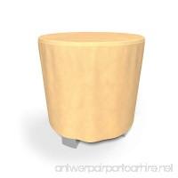 Budge All-Seasons Patio Bar Table Cover Tan (50 Diameter x 42 Drop) - B00V0CNYBE