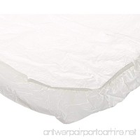Kwik-Cover 3072PK-W 30'' X 72'' Kwik-Cover - White Fitted Table Cover (1 full case of 50) - B001P9F0KK