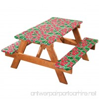 Miles Kimball Watermelon Deluxe Picnic Table Cover - B071RMHJC1
