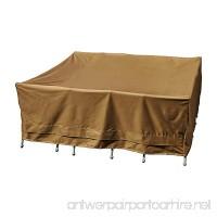 """Patio Armor SF43351 Square Table Cover  84""""/84""""/30"""" - B01DNPV5ES"""