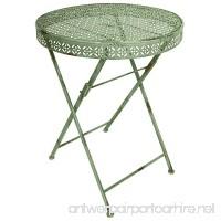 Esschert Design Industrial Heritage Round Bistro Table - B00GN59ZS4