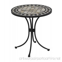 Home Styles 5605-34 Bistro Table Black Finish - B004MPE2CG