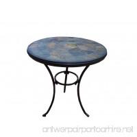 Oakland Living Stone Art Bistro Table 24-Inch - B0034TCMC8