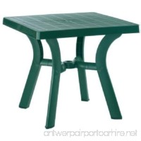 Compamia Viva Resin Square Dining Table 31 Inch (Green) (29H x 31W x 31D) - B0085PHCOO