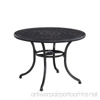 """Home Styles 5569-30 Athens Outdoor Round Dining Table  42"""" - B019RSQBV2"""
