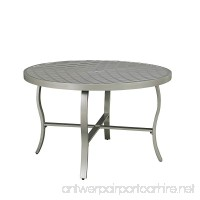 Home Styles 5700-32 South Beach Round Outdoor Patio Dining Table 48 Gray - B06XCQWGM3