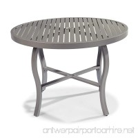 Home Styles 5702-30 South Beach Round Outdoor Dining Table  Gray - B07BFS4JCH