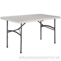 Goplus 5' Folding Table Portable Plastic Indoor Outdoor Picnic Party Dining Camp Tables - B017JSGKLS