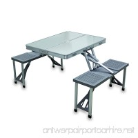 ONIVA - a Picnic Time brand Portable Folding Table with Aluminum Frame - B004OI8R6S