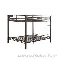 ACME Kaleb Sandy Black Queen over Queen Bunk Bed - B01E3PRAJQ