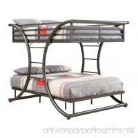 Coaster Home Furnishings 460078 Bunk Bed Gunmetal - B00R2OTYR2