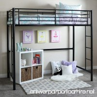 Your Zone Metal Loft Twin Bed by SuperIndoor - B00OTRMOD6