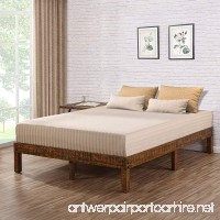 Ecos Living 14 Inch Solid Wood Platform Bed with Natural Finish (Full) - B07CJYRZK9