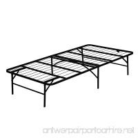 Furinno FB001T Angeland Mattress Foundation Platform Metal Bed Frame  Twin - B01LYCRQ3W
