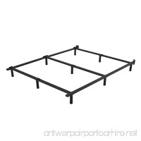 HOMUS 7 Inch High Heavy Duty Steel Platform Bed Frame/Base  Fit for Mattress and Box Spring (King) - B07CBPXR6C