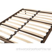 Merax Stylish Design Solid Metal Platform Bed Frame Mattress Foundation with Headboard and footboard Bronze (Full) - B01MDOWUHE