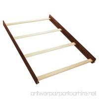 Simmons Kids Full Size Wood Bed Rails Espresso Truffle - B00UE74VB8