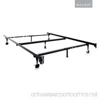 Adjustable Steel Bed Frame Slat Center Support System For Twin