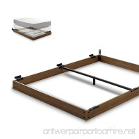 Zinus 5 Inch Wood Bed Frame for Box Spring & Mattress Set  Keep Pets From Beneath Your Bed  Queen - B06Y2KWNLV
