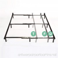 Zinus Compack Adjustable Steel Bed Frame  for Box Spring & Mattress Set  Fits Twin to Queen - B015IHMK5C
