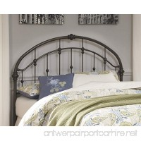 Ashley Furniture Signature Design - Nashburg Metal Headboard - Queen Size - Component Piece - Vintage Casual - Headboard Only - Bronze Finish - B01F8MCNBS
