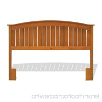 Fashion Bed Group Finley Wooden Headboard Panel with Curved Top Rail Design  Maple Finish  Full/Queen - B002HWRDTA
