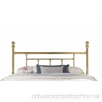 Hillsdale 1038 Chelsea Headboard  Rails Not Included without  Queen  Classic Brass - B0006FLNGO