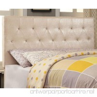 HOMES: Inside + Out ioHOMES Nile I Faux Crocodile Skin Adjustable Headboard  Full/Queen  Pearl White - B01LS2BSV8